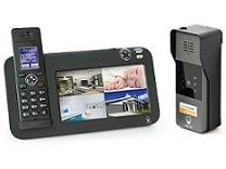 interphone video + telephone dect