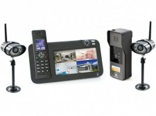 Interphone DECT 2 caméras