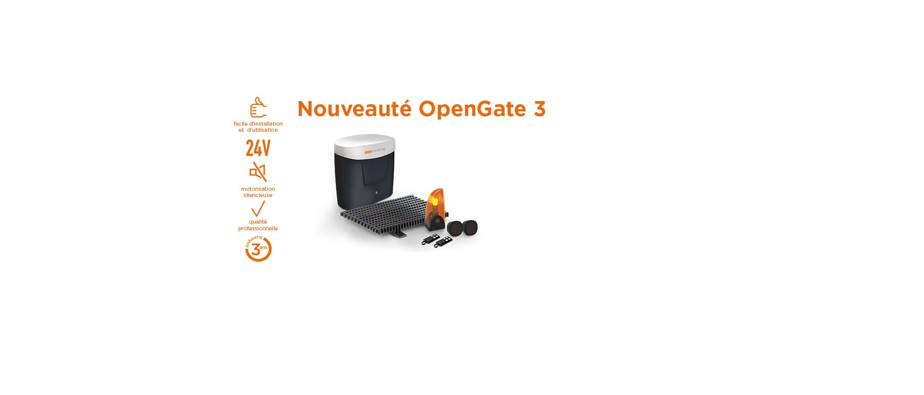 Kit OpenGate 3 coulissant