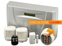 Kit alarme sans fil - AD4TV - AD4TV