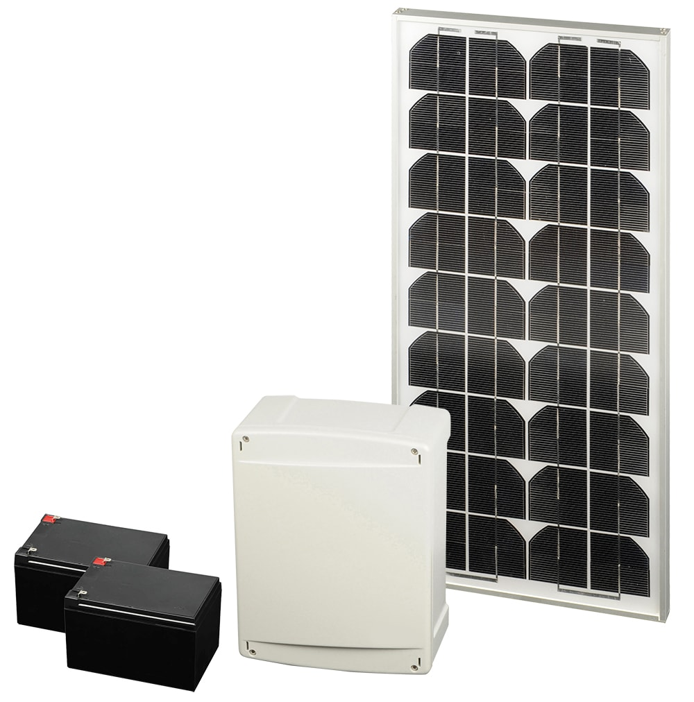kit solaire motorisation kit solaire complet scs la boutique. Black Bedroom Furniture Sets. Home Design Ideas