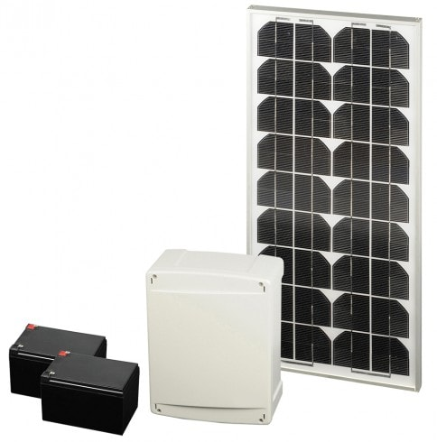 kit solaire motorisation kit solaire complet scs la. Black Bedroom Furniture Sets. Home Design Ideas