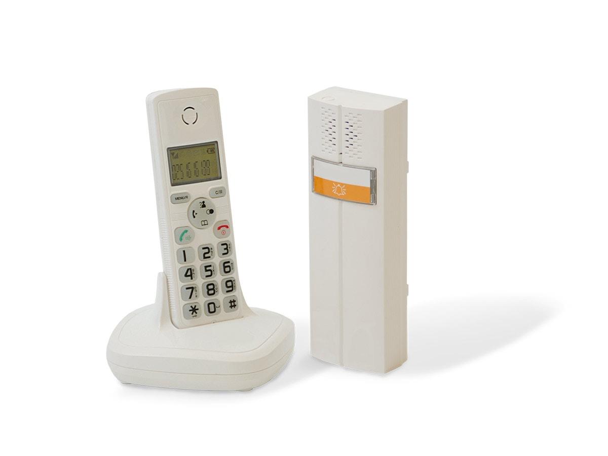 interphone audio dect cl 3622 w scs la boutique. Black Bedroom Furniture Sets. Home Design Ideas