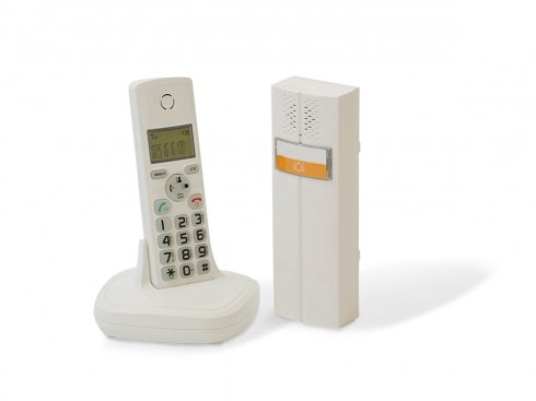 interphone audio dect cl 3622 w scs la boutique. Black Bedroom Furniture Sets. Home Design Ideas