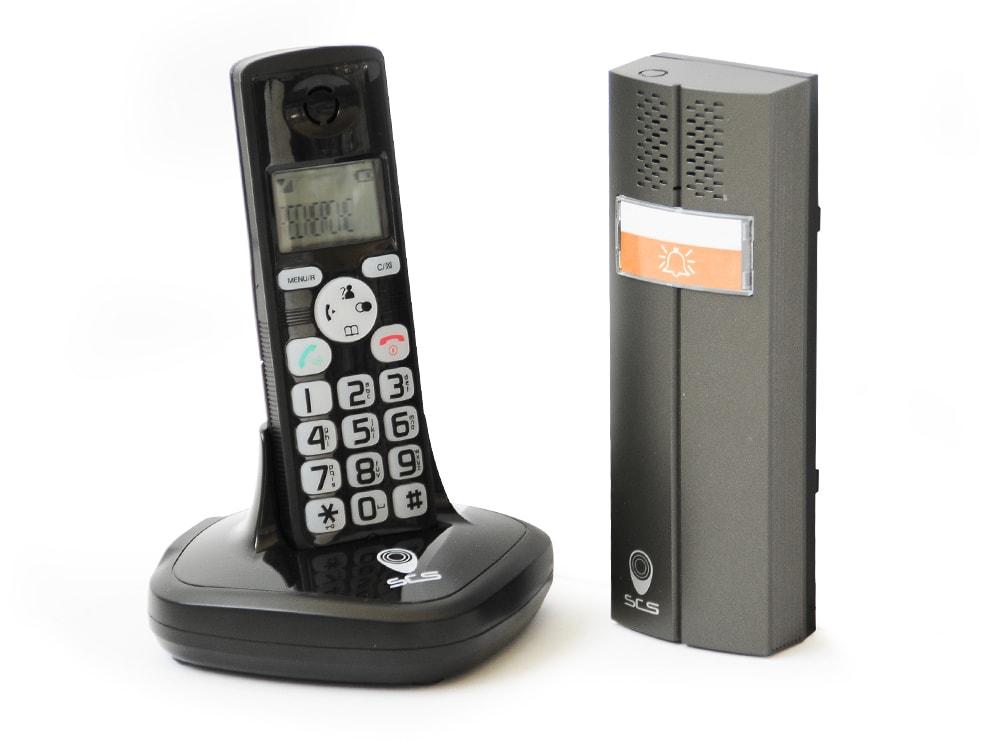 interphone audio dect cl 3622 b scs la boutique. Black Bedroom Furniture Sets. Home Design Ideas
