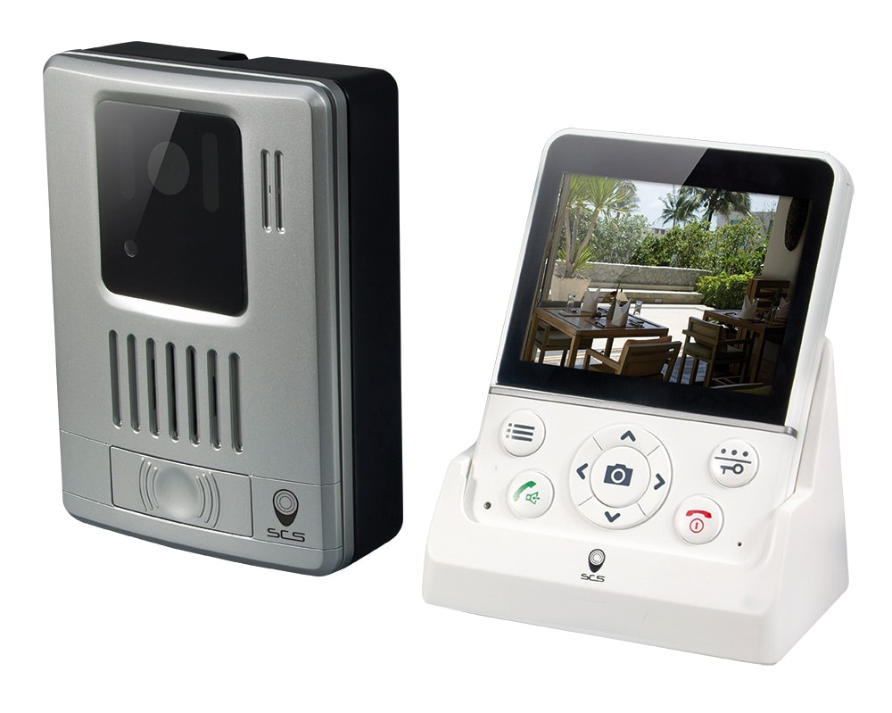 interphone vid o sans fil wdp 100 scs la boutique. Black Bedroom Furniture Sets. Home Design Ideas