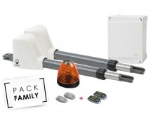 Pack Family Basic Battant - Access 1 safety + 2 télécommandes supp - Access 1 safety + 2 télécommandes supp