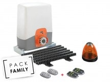 Pack Family Basic coulissant - Access 3 safety + 2 télécommandes supp - Access 3 safety + 2 télécommandes supp