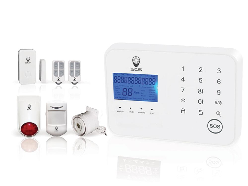 Alarmes maison sans fil alarme sans fil sedea elegante for Alarme maison sans fil dnb