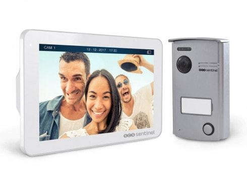 Interphone vidéo mains libres - VisioDoor 7+ - VisioDoor 7+