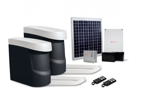 motorisation portail solaire bras opengate 2 eco energy scs la boutique. Black Bedroom Furniture Sets. Home Design Ideas