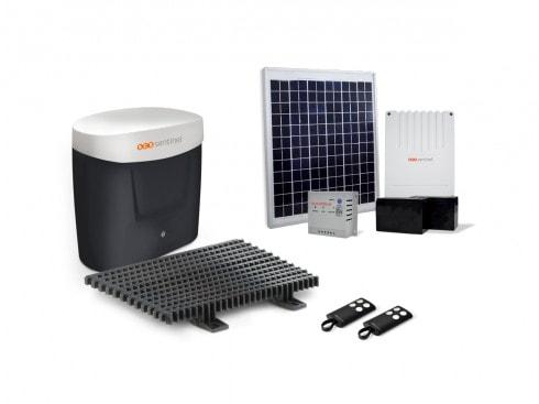 kit motorisation portail coulissant solaire opengate 3. Black Bedroom Furniture Sets. Home Design Ideas