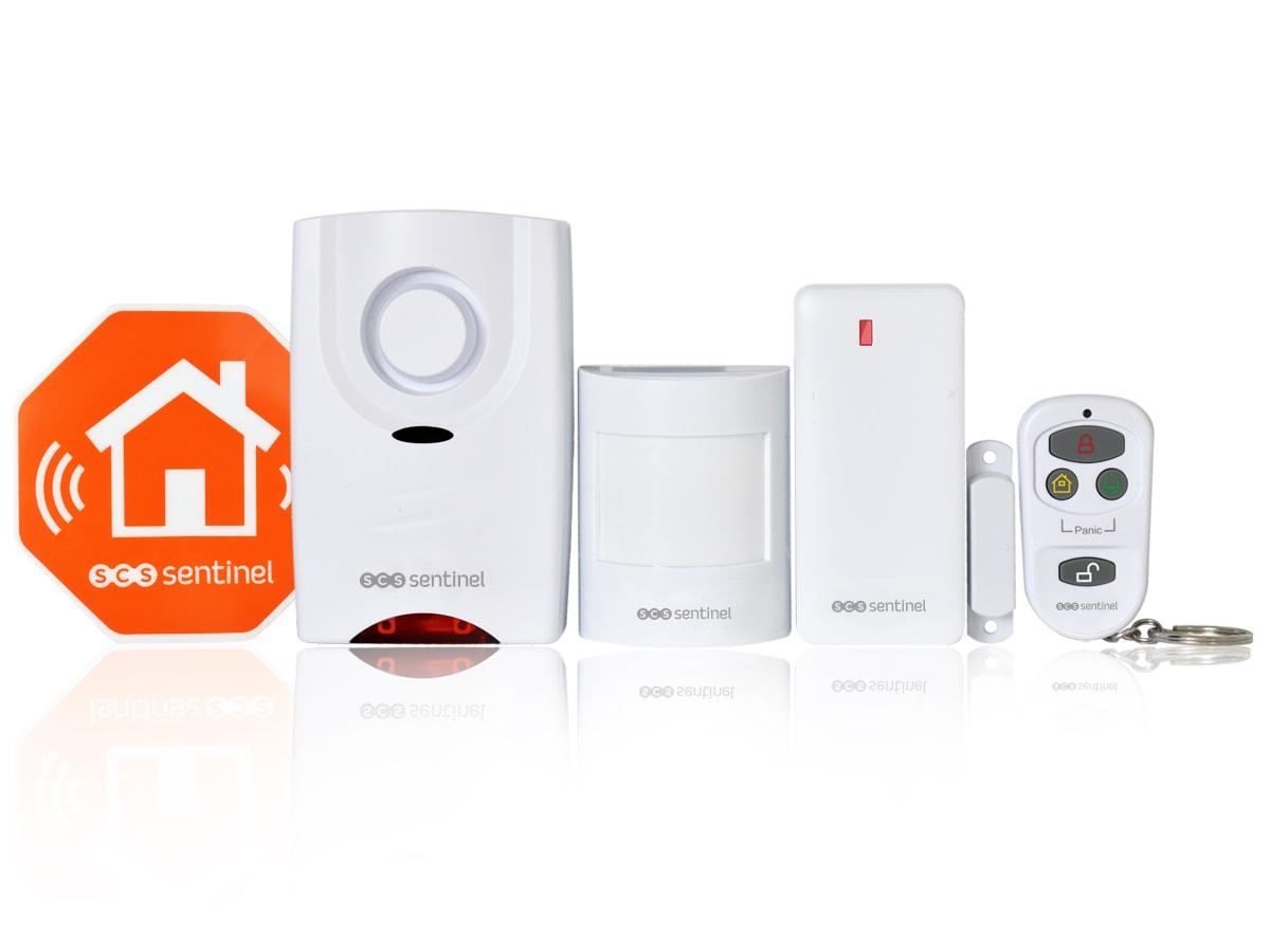 Kit alarme sans fil kitalarmeasy scs la boutique for Alarme autonome garage