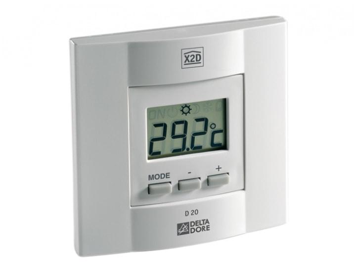 thermostat d ambiance diana d20 radio scs la boutique. Black Bedroom Furniture Sets. Home Design Ideas