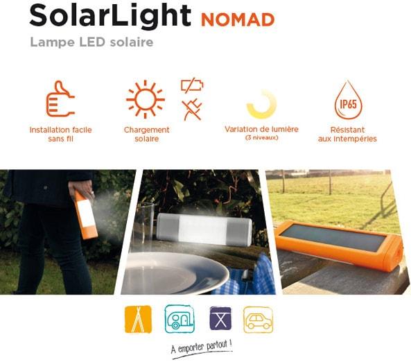 éclairage solaire pas cher