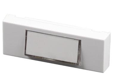 Bouton poussoir sonnette pushbell 64001 scs la boutique - Bouton de sonnette filaire ...